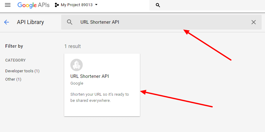 Create TinyURL Using Google URL Shortener API - Artisans Web