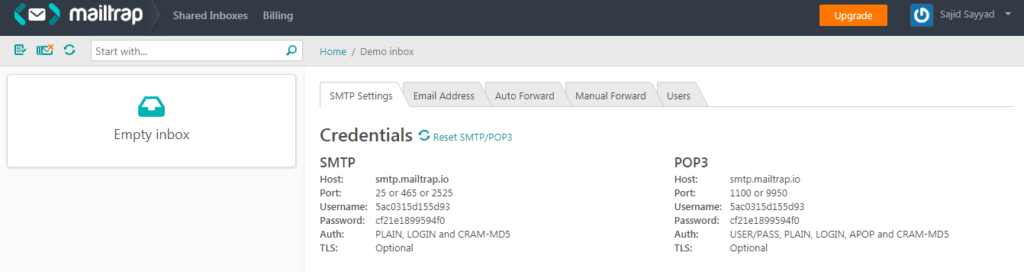 Mailtrap: A Fake SMTP Server For Pre-Production Email Testing